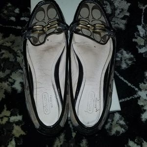 Coach loafers with box
